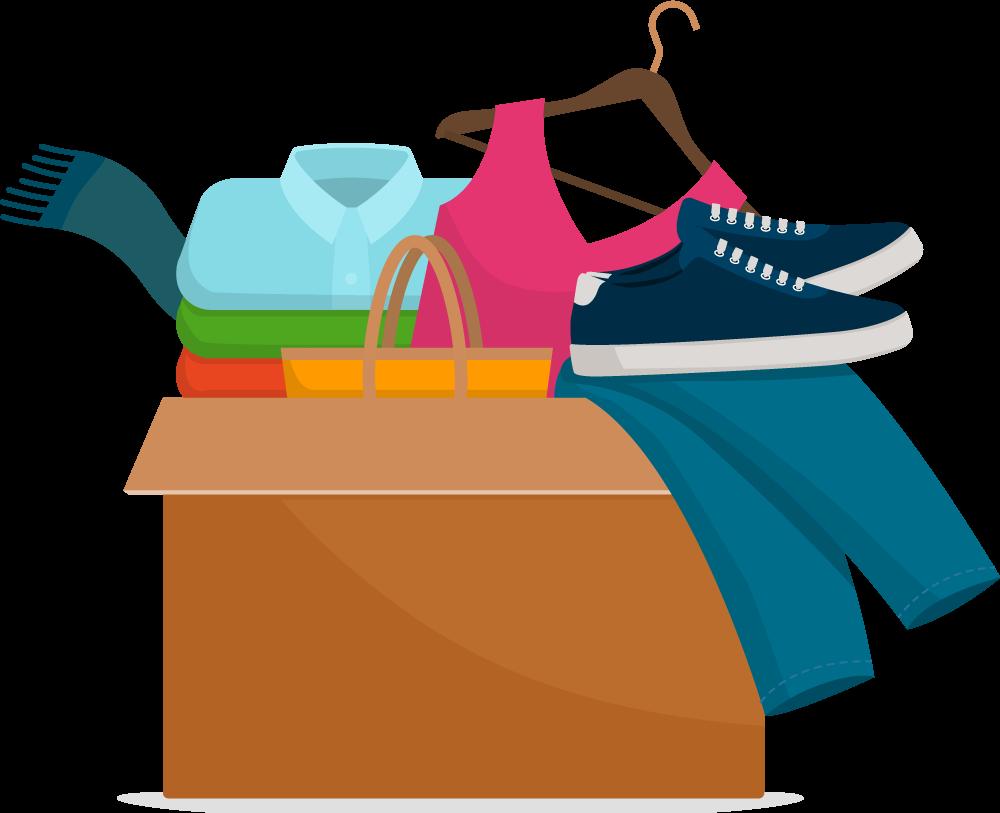 Kleiderkammer - Symbolbild
