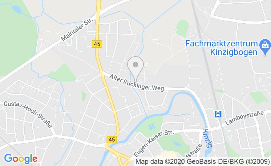 Google Maps Karte - (Statische Bild)